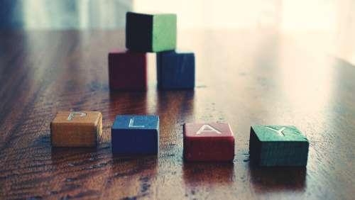play bricks childhood vintage toys