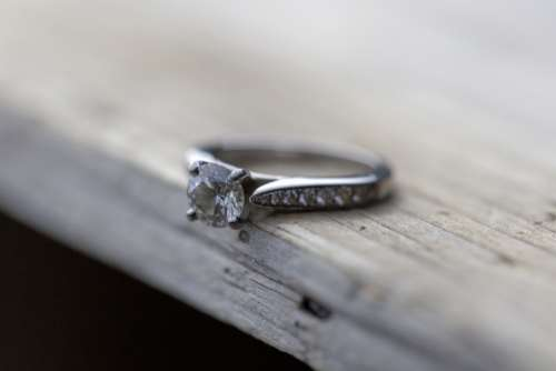 rustic wedding ring marriage love