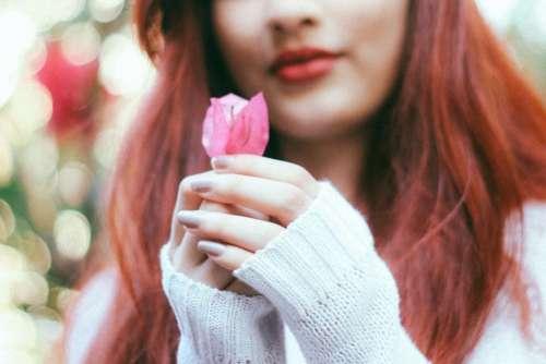 people woman beauty girl flower