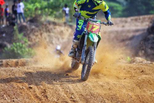 motocross race sport game motorcycle