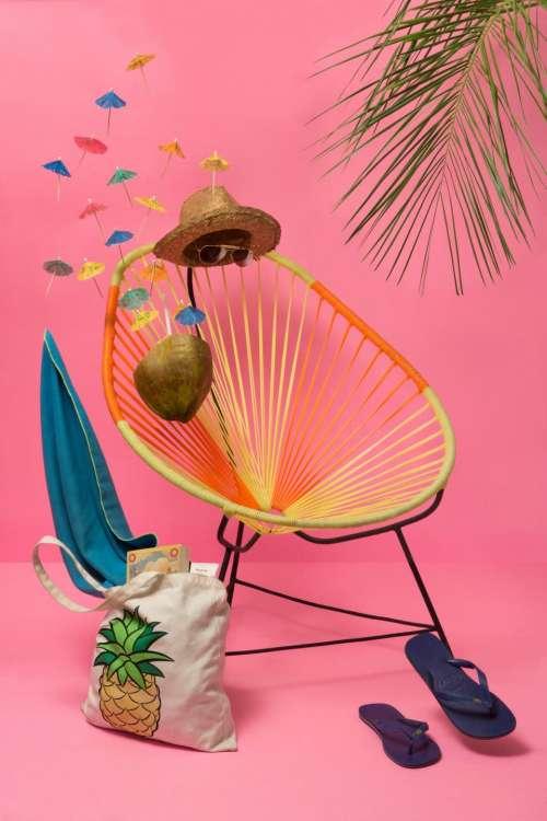 slipper bag logo hat summer