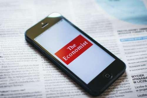 economist app iphone phone smartphone