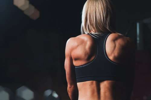 girl woman fitness workout gym