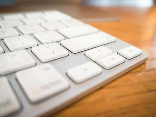 keyboard office desk business work