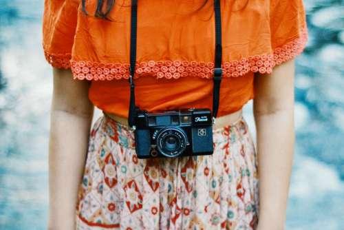 people woman lady dress camera