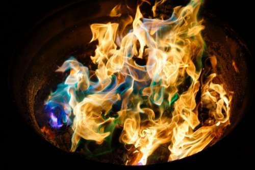 fire flame charcoal ash smoke