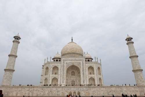 Perspective View of Taj Mahal