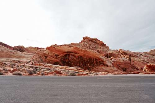 Rainbow Valley, Valley of Fire State Park, Nevada, USA