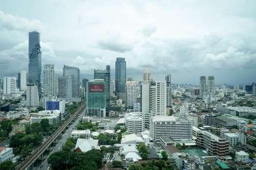 View of Bangkok, Thailand.