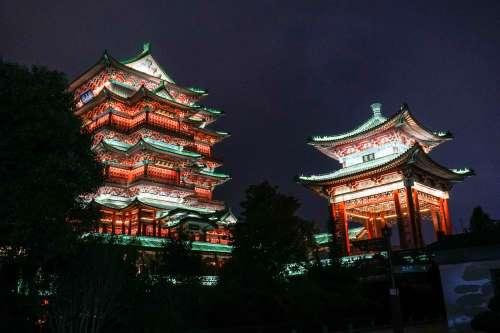 The Pavilion of Prince Teng, Nan Chang, China.