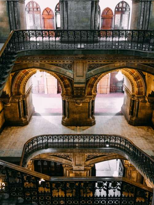 Archways And Stairs Photo