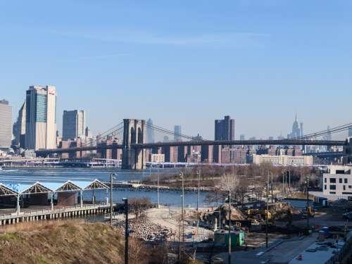 City Buildings and Bridge
