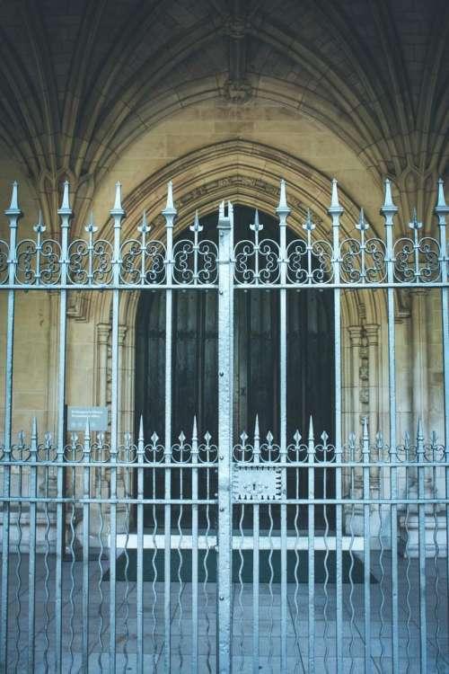 churches railing fences St Margaret's Church London