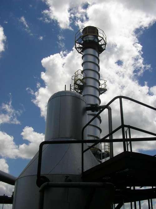 Steam Boiler Chimney steam heat industrial