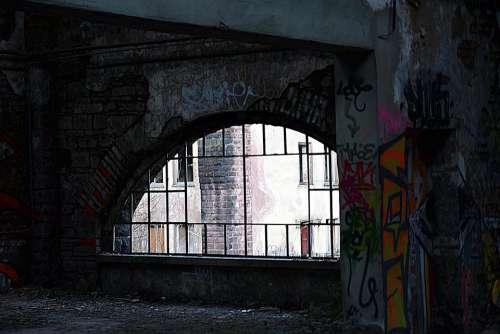 abandoned abandoned place lost place graffiti rusty