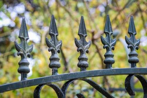 railing fence gate wrough iron iron