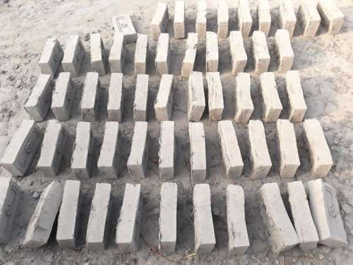 Nepal construction bricks adobe pattern