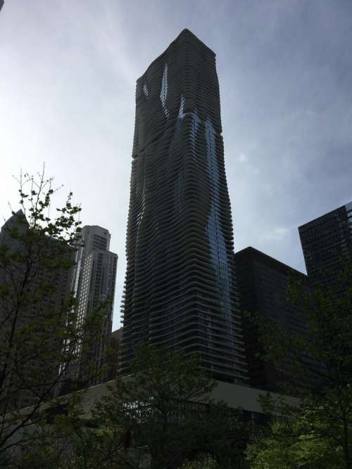 Chicago skyscraper Aqua Jeanne Gang