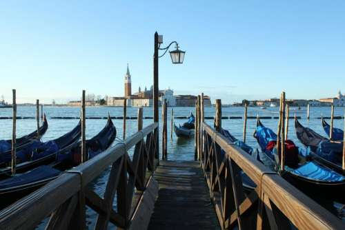 Venice Italy travel water pier