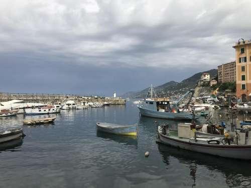 sea port camogli italy Italy