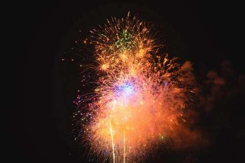 Happy New Year 2020 Fireworks Free Photo