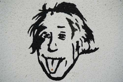 Albert Einstein Science Painting Drawing Pictures