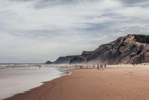 Algarve Sea O Ocean Portugal Beach Nature