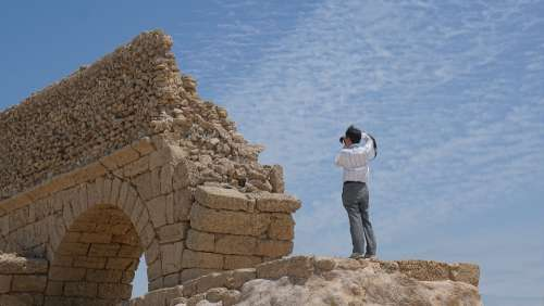 Aqueduct Tourism Caesarea An Ancient Roman