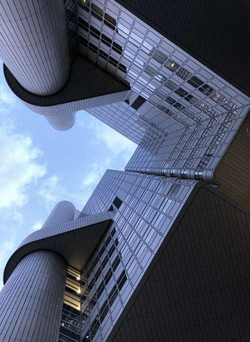 Architecture Skyscraper Office Building City