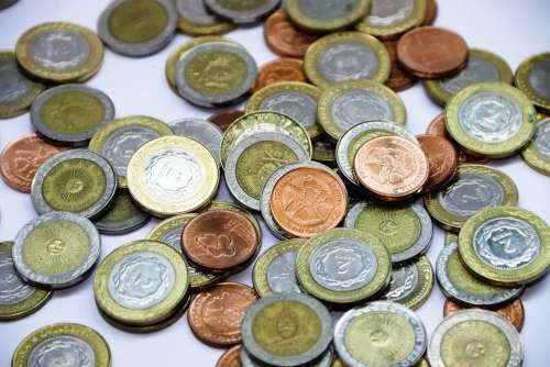 Argentina Weight Money Currency Coins Weights