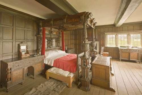 Astley Hall Astley Hall Halls Bed Bedroom Rooms