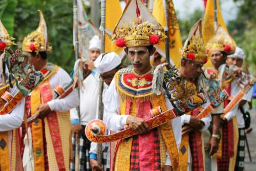 Bali Tradition Dance Indonesia Traditional Culture