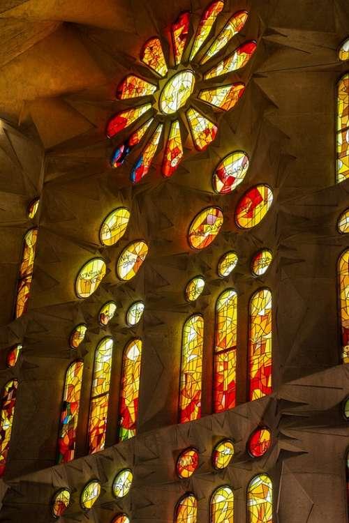 Barcelona Spain Sagrada Architecture Catalonia