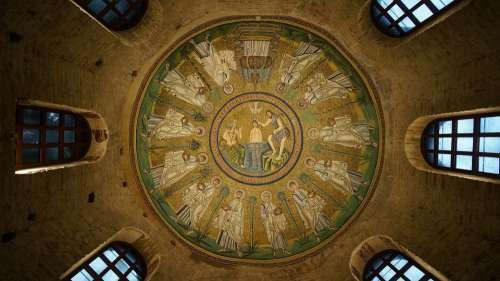Basilica Mosaic Ceiling Religion Architecture