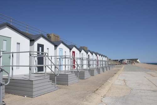 Beachhuts Bonningstedt Seaford Sussex Beach Huts