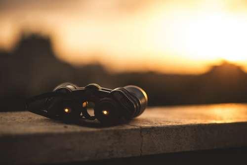 Binoculars View Focus Optical Distance Lens Scope