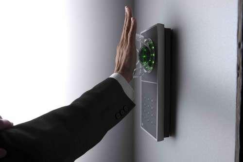 Biometrie Handvenenerkennung Handvenenscan