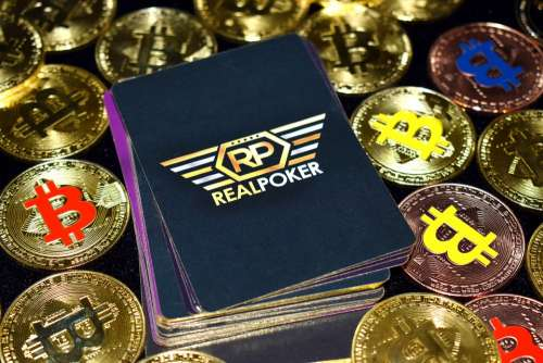 Bitcoin Poker Poker Btc Cryptocurrency Gold Coins