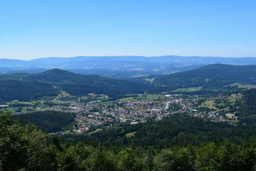 Bodenmais Bavarian Forest Bavaria Germany Mountains