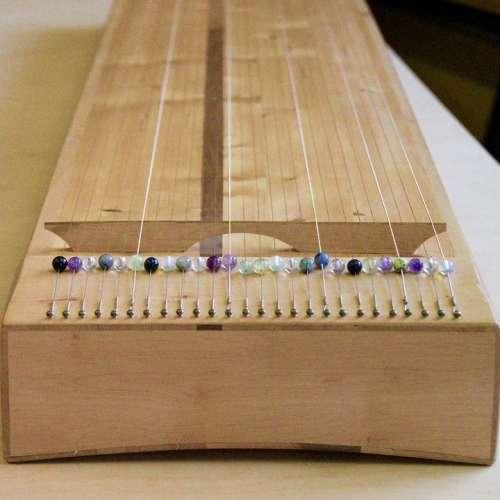 Body Monochord Monochord Haselholz Wood Instrument