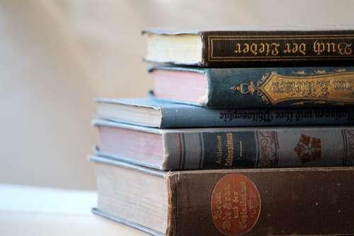 Books Read Education Antiquariat Literature
