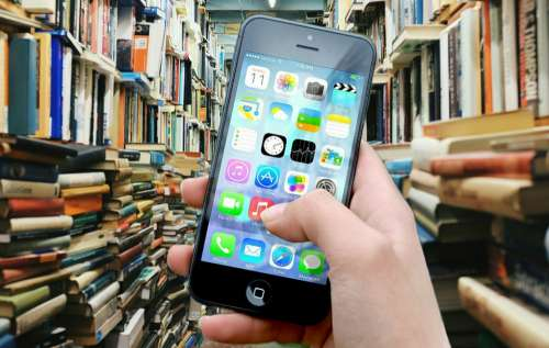 Books Library Iphone Smartphone Apps Apple Inc