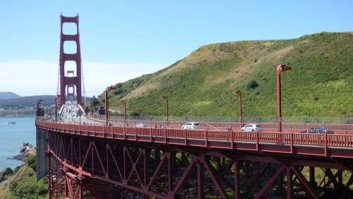 Bridge San Francisco Golden Gate Road