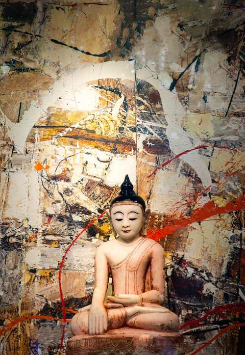 Buddha Bangkok Thailand Meditation Asia Buddhism
