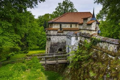 Burg Lichtenstein Castle Romantic Tower