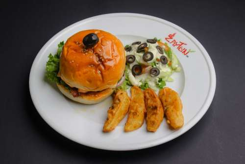 Burger Spicy Healthy Food Chicken Meal