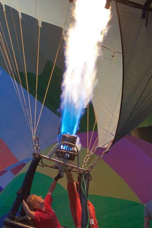 Burner Hot Air Balloon Balloon Sky Flying Freedom