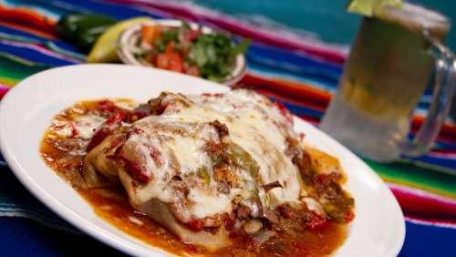 Burrito Mexican Food Taco Delicious Tasty Cuisine