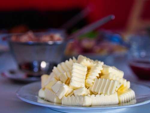 Butter Breakfast Delicious Bread Eat Food Fresh