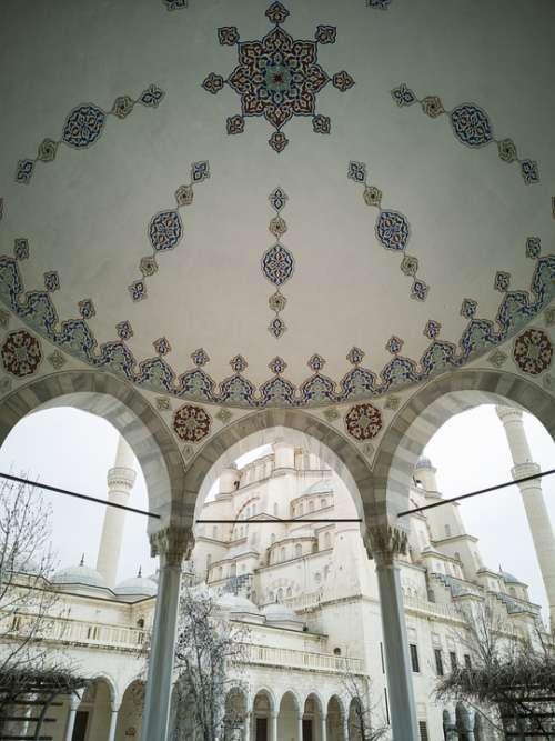 Cami Islam Ornament Architecture Building Religion
